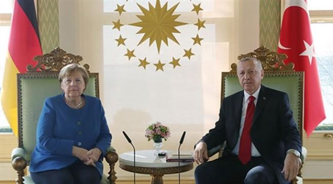 Erdoğan ve Merkel'den ortak basın toplantısı