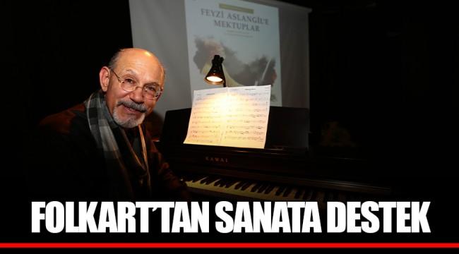 FOLKART'TAN SANATA DESTEK