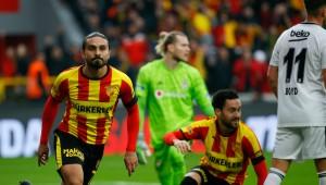 Göztepe yeni stadını Beşiktaş galibiyetiyle açtı