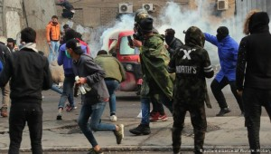 Irak'ta protestoculara kanlı müdahale