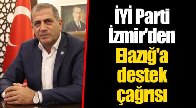 İYİ Parti İzmir'den Elazığ'a destek çağrısı
