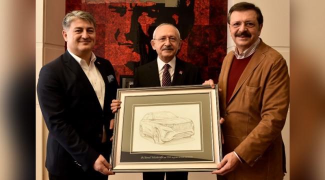 Kılıçdaroğlu TOGG heyetini kabul etti