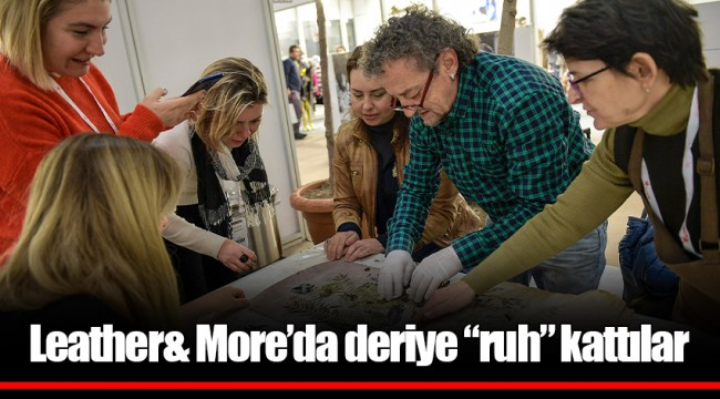 "Leather& More'da deriye ""ruh"" kattılar"