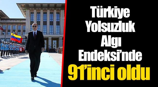 Türkiye Yolsuzluk Algı Endeksi'nde 91'inci oldu: Tek adam rejimi geriletiyor