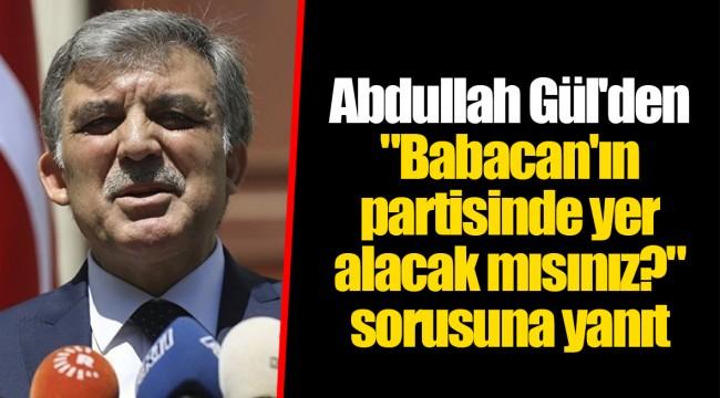 Abdullah Gül'den