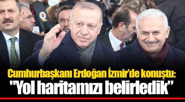Cumhurbaşkanı Erdoğan İzmir'de konuştu: