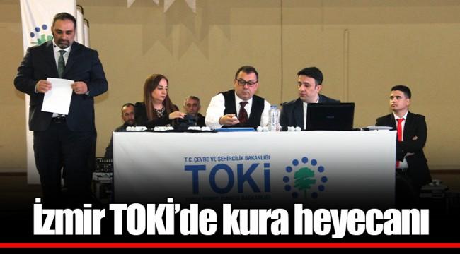 İzmir TOKİ'de kura heyecanı