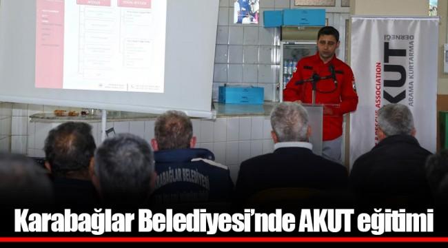 Karabağlar Belediyesi'nde AKUT eğitimi