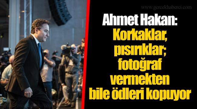 Ahmet Hakan: Korkaklar, pısırıklar; fotoğraf vermekten bile ödleri kopuyor