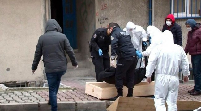 Evinde ölü bulunan bir kişide Koronavirüs şüphesi; 4 kişi karantinaya alındı