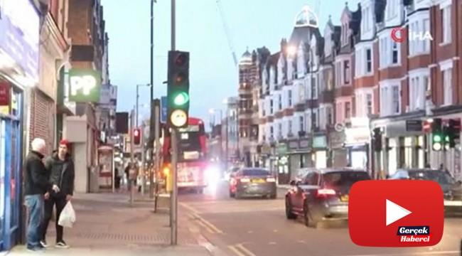 İngiltere'deki sokağa çıkma yasağına rağmen Türk mahallesi hareketli