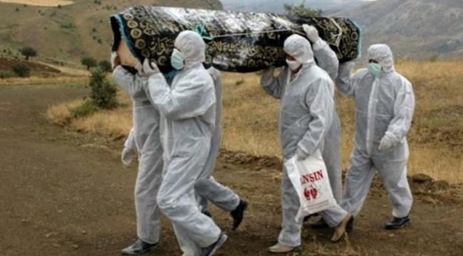 Koronavirüsten ölen Aytaç Yalman'ın cenaze görüntüleri ortaya çıktı