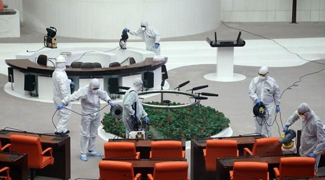 Meclis'te koronavirüs paniği