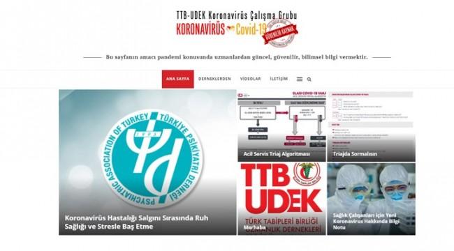 TTB, koronavirüs ile ilgili bilgilendirme sitesi açtı