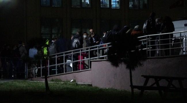 Yurtdışından getirilen öğrenciler karantina altına alındı