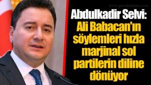 Abdulkadir Selvi: Ali Babacan'ın söylemleri hızla marjinal sol partilerin diline dönüyor