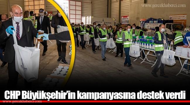 CHP Büyükşehir'in kampanyasına destek verdi