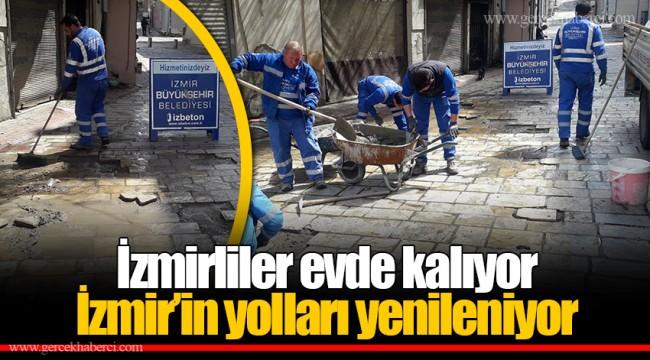 İzmirliler evde kalıyor