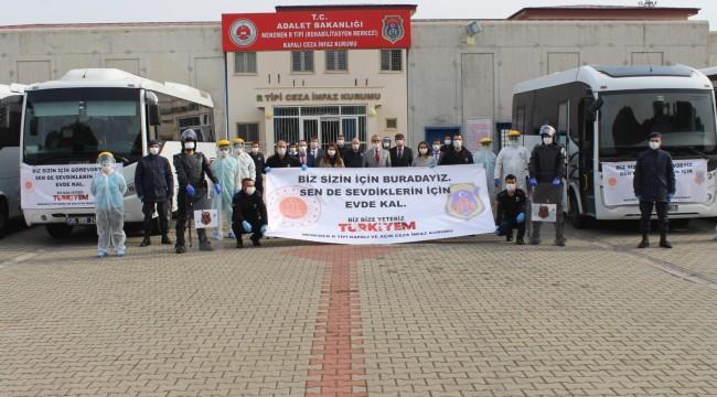 Menemen Hatundere Cezaevi personeli kendilerini izole etti