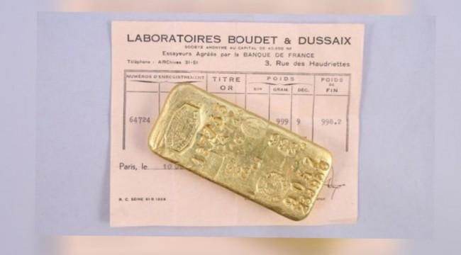 10 yaşlarında iki çocuk karantinada çadırla oynarken 100 bin euro değerinde altın külçeleri buldu