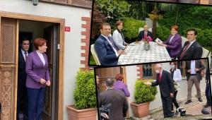 CHP Genel Başkanı Kemal Kılıçdaroğlu'ndan İyi Parti lideri Meral Akşener'e bayram ziyareti