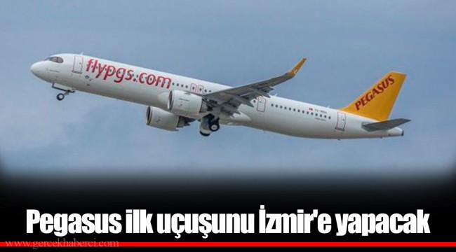 Pegasus ilk uçuşunu 1 Haziran saat 10.15'te İzmir'e yapacak