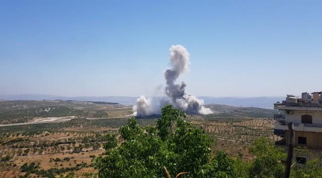 İdlib'de TSK konvoyunun geçişi sırasında patlama... 1 şehit!