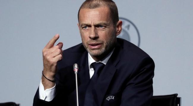 UEFA Başkanı Ceferin'den iddialı sözler: EURO 2020'nin seyircili oynanacağına 1 milyon dolara bahse girerim