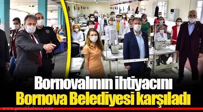 Bornovalının ihtiyacını Bornova Belediyesi karşıladı