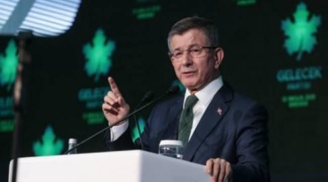 Davutoğlu: Fetö'nün yaptığını bugün hükümet yapıyor