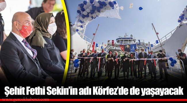 Şehit Fethi Sekin'in adı Körfez'de de yaşayacak