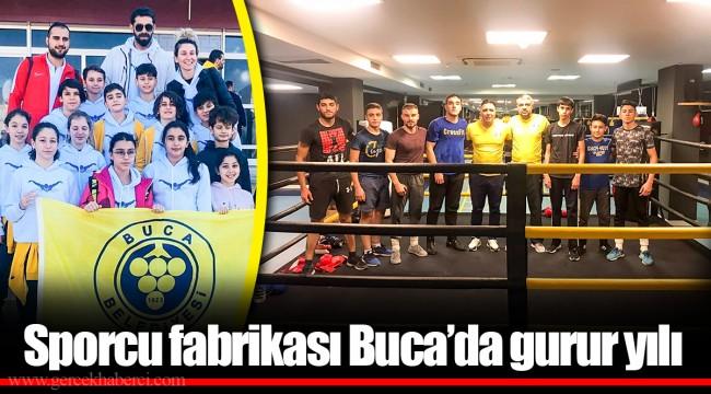 Sporcu fabrikası Buca'da gurur yılı