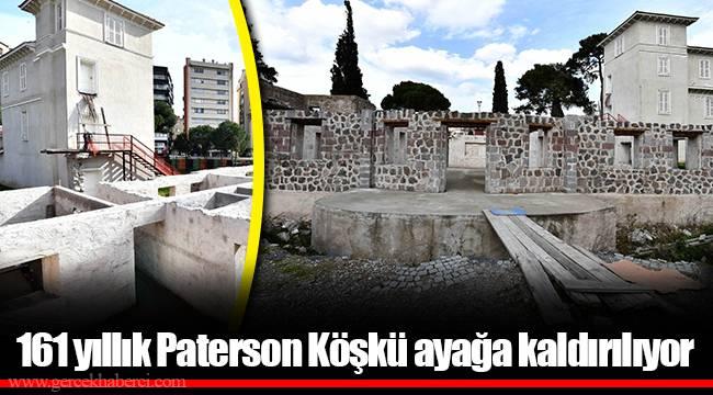 161 yıllık Paterson Köşkü ayağa kaldırılıyor