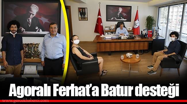 Agoralı Ferhat'a Batur desteği