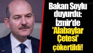 Bakan Soylu duyurdu: İzmir'de 'Alabaylar Çetesi' çökertildi!
