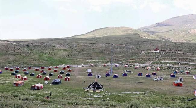 Erciyes'teki Tekir Yaylası doğa tutkunlarının gözde mekanı olma yolunda ilerliyor