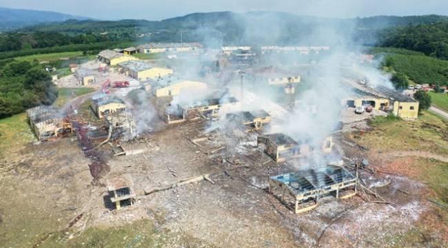 Havai fişek fabrikasında çalışan işçi patlama anını anlattı