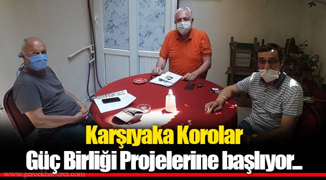 Karşıyaka Korolar Güç Birliği Projelerine başlıyor...