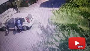 Samsun'da 6 kişinin yaralandığı kaza kamerada