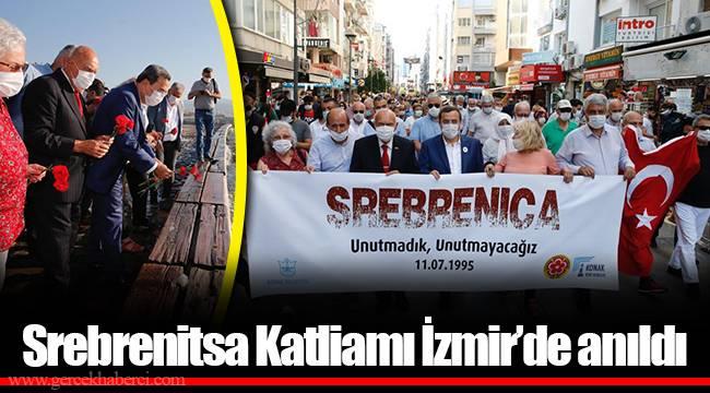Srebrenitsa Katliamı İzmir'de anıldı
