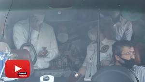 Balık istifi yolcu taşıyan minibüs sürücüsünden gazetecilere tepki