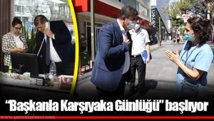 """""""Başkanla Karşıyaka Günlüğü"""" başlıyor"""