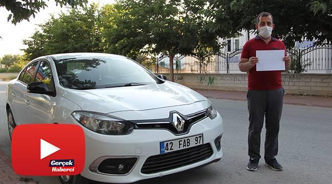 Hiç geçmediği İstanbul'daki köprüden 9 kez ceza yedi