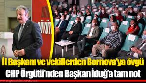İl Başkanı ve vekillerden Bornova'ya övgü