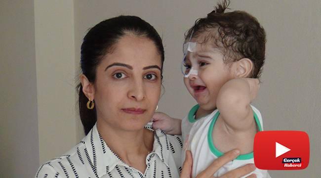 İşitme engelli 2 yaşındaki Emir hayata tutunmak için ilik nakli bekliyor