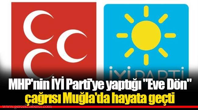 MHP'nin İYİ Parti'ye yaptığı