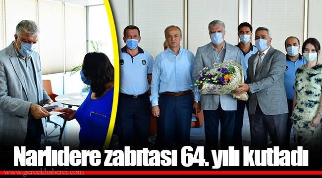 Narlıdere zabıtası 64. yılı kutladı