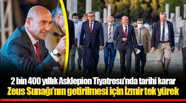 Zeus Sunağı'nın getirilmesi için İzmir tek yürek