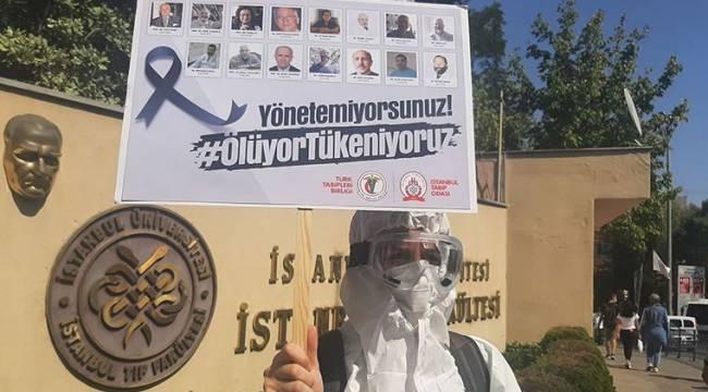 Ankara Tabip Odası: Koronavirüse yakalanan sağlık çalışanı sayısı 943'e yükseldi