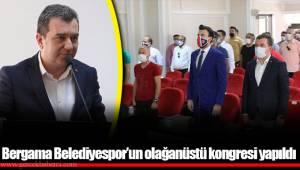 Bergama Belediyespor'un olağanüstü kongresi yapıldı